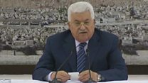عباس : لا تغييرات على المواقف الفلسطينية الرافضة  لما يحدث في القدس