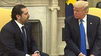 ترامب :المساعدات الأمريكية تضمن أن  الجيش اللبناني هو القوة الوحيدة في لبنان
