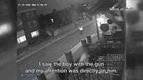 Watch: CCTV footage of a shooting in Leyton last year