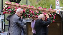 Saffie Roussos' funeral held in Manchester