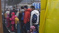 ဥရောပမှာ ခိုလှုံလိုသူတွေ စရောက်တဲ့ မြေမှာ လျှောက်ရမယ်