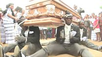 Ghana : des danseurs pour funérailles