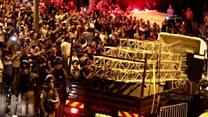 Єрусалим: загорожі вивезли під оплески