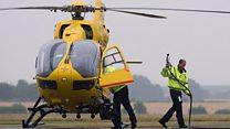 Duke leaves air ambulance role