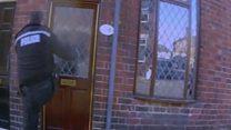 Killer's 999 call as police kick in door