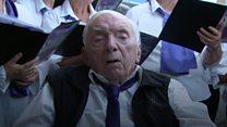 Choir helping Ron find his voice again