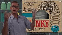 Million dollar idea: The Slinky