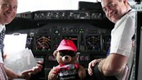 Lost teddy bear reunited with owner