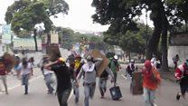 ဗင်နီဇွဲလားက ဆန္ဒပြပွဲများ