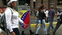ونزوئلا همچنان ناآرام؛ معترضان به انتخابات مجلس مؤسسان جدید، باز اعتصاب می کنند