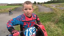 The BMX champion fighting a rare condition