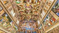 Os detalhes da Capela Sistina que não podem ser vistos a olho nu