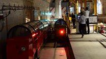 London's underground railway runs again