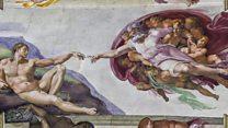 システィーナ礼拝堂の「最後の審判」 5年かけデジタル画像に