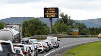 DUP: Irish Sea border 'absurd'