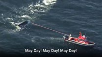 Good Samaritans rescue overturned boat