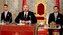 """الملك المغربي للمسؤولين """" إما أن تقوموا بمسؤولياتكم أو تنسحبوا"""""""
