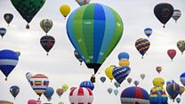 Record-breaking hot air balloons take to the skies