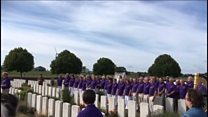 Ceremony remembers Welsh poet Hedd Wyn