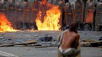 Venezuela'da seçim: Çatışmalarda en az 10 ölü