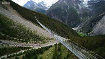 طولانیترین پل معلق پیادهرو