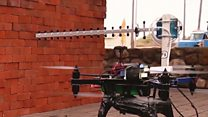 Drones use wi-fi for 3D mapping