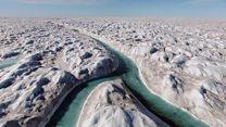 အရည်ပျော်နှုန်းမြန်နေတဲ့ ဂရီန်းလန်း ရေခဲပြင်