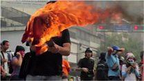 Выборы в Венесуэле: протесты и столкновения