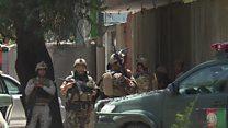 کابل کې د عراق پر سفارت ډله ییز برید