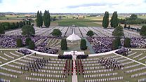 Passchendaele ceremony: Highlights