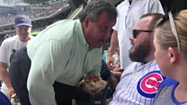 Christie to heckler: 'You're a big shot'