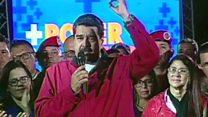 پیروزی هواداران دولت ونزوئلا در انتخاباتی که مخالفان تحریمش کردند
