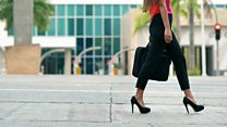 Should a high heels dress code be banned?