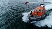 On board an RNLI lifeboat