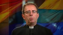 Celebrity vicar speaks of 'hostile world'