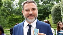 Why does Walliams pinch himself?