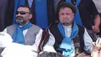 تجمع طرفداران ائتلاف ملی نجات افغانستان در مزار شریف