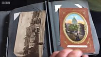World War One photo album found in a loft