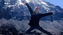 「きょうキリマンジャロ登ったよ」 最年少8歳少女が成功