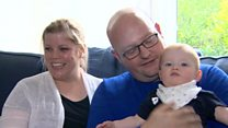 Parents of IVF baby talk about potential CCG cuts