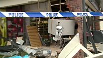 JCB used in botched cash machine raid