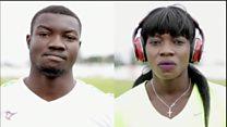 Marthe et Hugues au sommet de l'athlétisme burkinabé