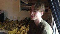 The man who eats 100 bananas a week