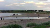 Children rescued from Ballycastle beach