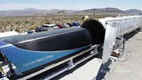 High-speed passenger pod tested in US desert