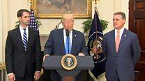 حمایت ترامپ از طرح کنگره برای پذیرش مهاجران براساس مهارت