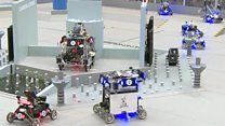Robot armies go to battle in China