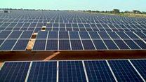 West Africa's biggest solar plant
