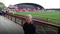The six-year-old 'groundhopper'