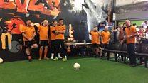 Penalty fundraiser for Wolves goalkeeper
